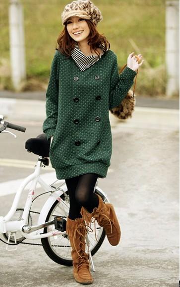 2013年秋季最流行服装搭配趋 高清图片